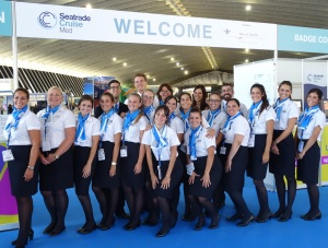 Intercruises was the Official Staffing & Hotels supplier at Seatrade Cruise med