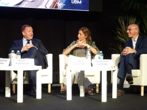Mark provides service insight during the Seatrade Conference Program